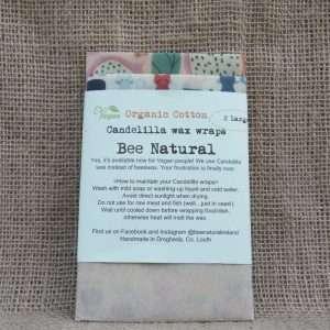 Bee Natural Organic Cotton Candelilla Wax Wraps