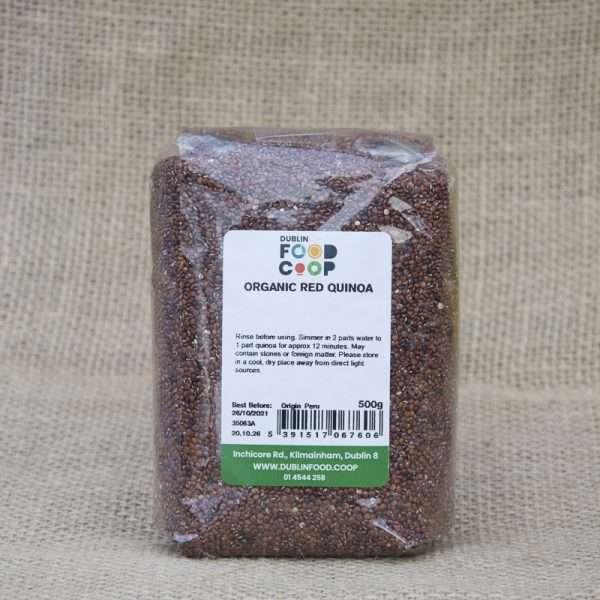 Dublin Food Coop Organic Red Quinoa