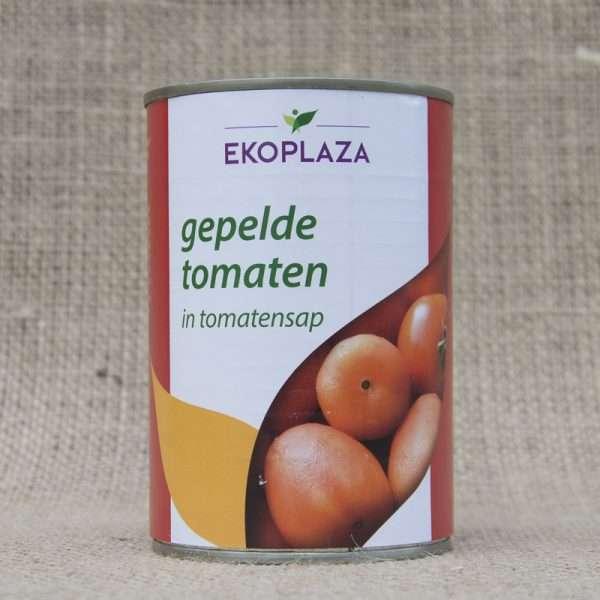 Ekoplaza Gepelde Tomaten