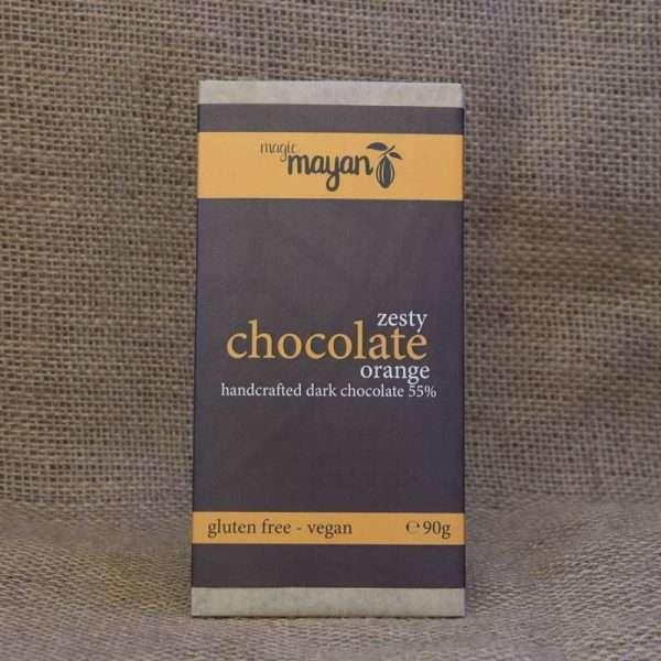 Magic Mayan Dark Orange Chocolate Bar 90g