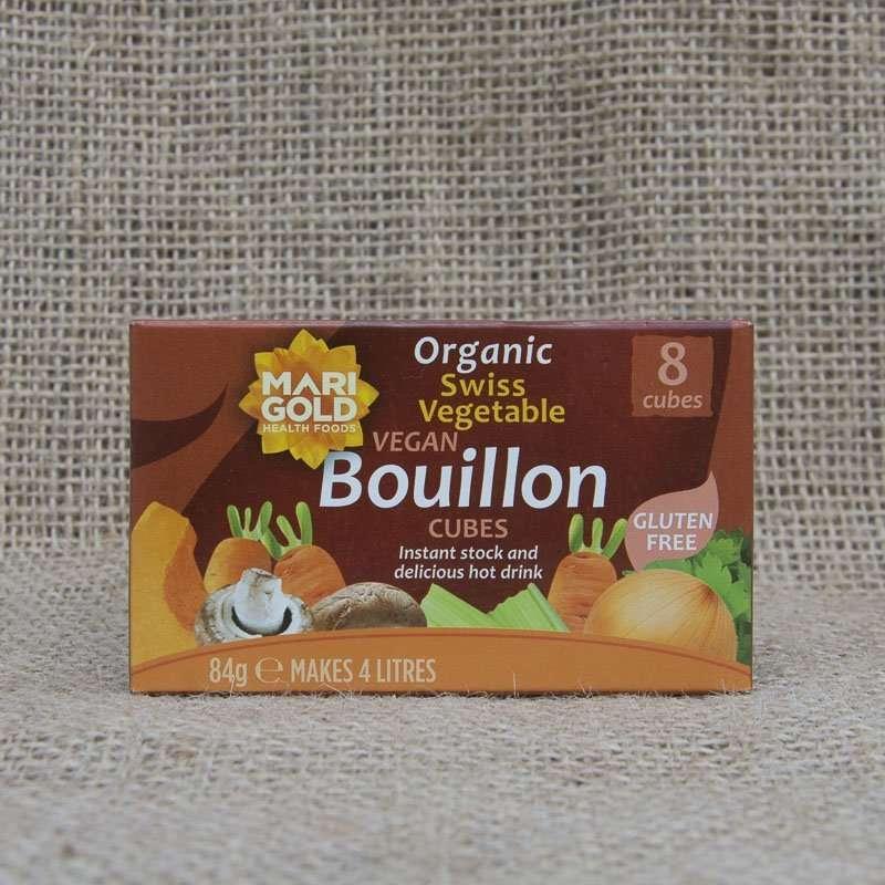 Marigold Organic Swiss Vegetable Vegan Bouillon Cubes