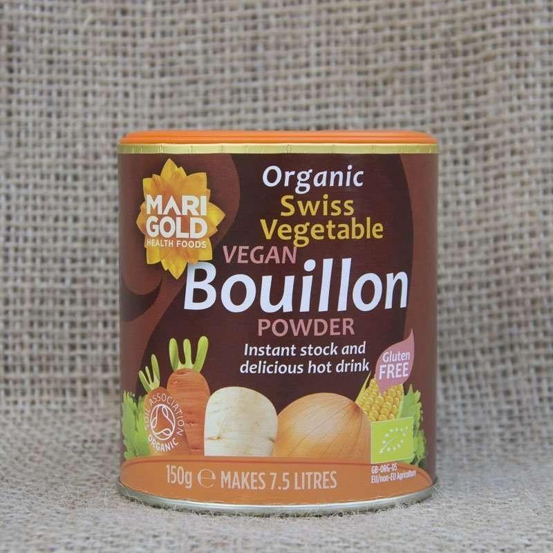 Marigold Organic Swiss Vegetable Vegan Bouillon Powder 150g