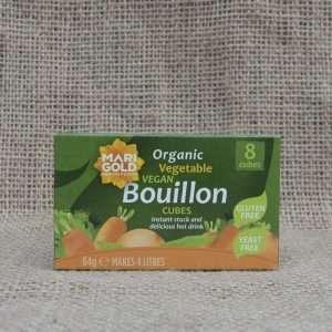 Marigold Organic Vegetable Vegan Bouillon Cubes