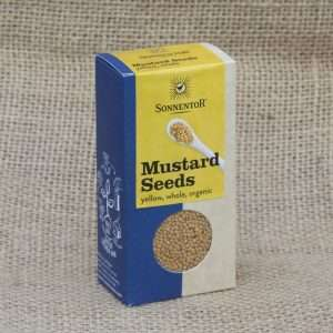 Sonnentor Mustard Seeds Yellow Whole Organic