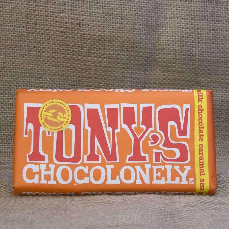 Tony's Chocolonely Milk Caramel Bar 180g
