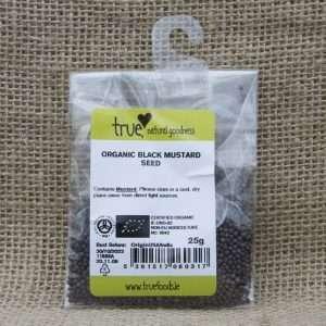 True Natural Goodness Organic Black Mustard Seed