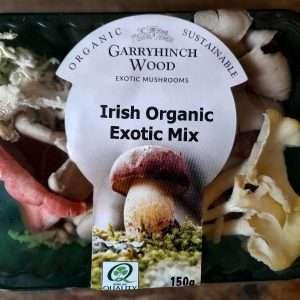 irish organic exotic mushrooms mix