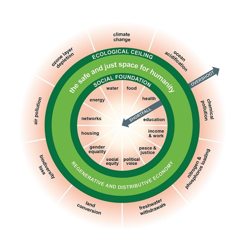 Doughnut Economics Model