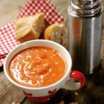Sweet potato soup by Rozanne Stevens